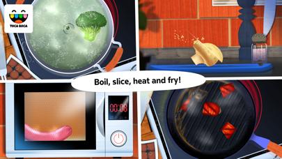 Toca Kitchen review screenshots