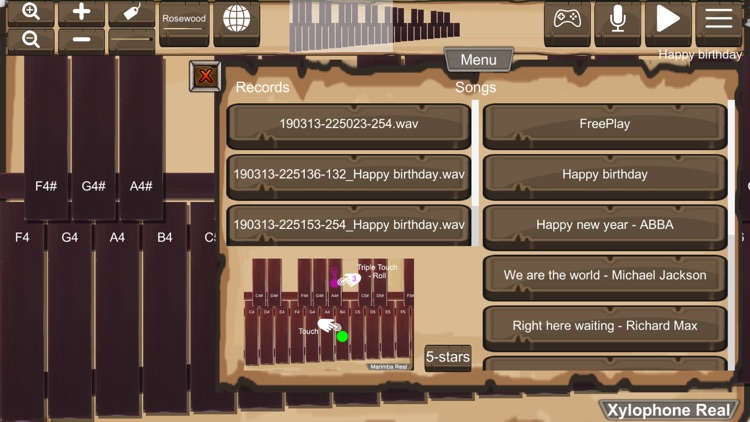 Xylophone Real: 2 mallet types screenshot-3