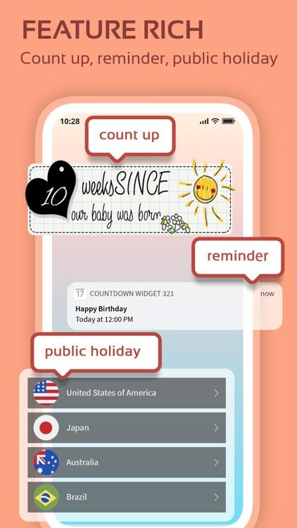 Countdown widget & timer 321 screenshot-6