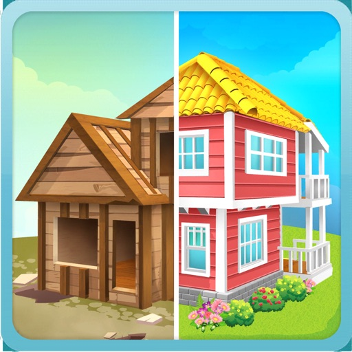 Idle Home Makeover free software for iPhone and iPad