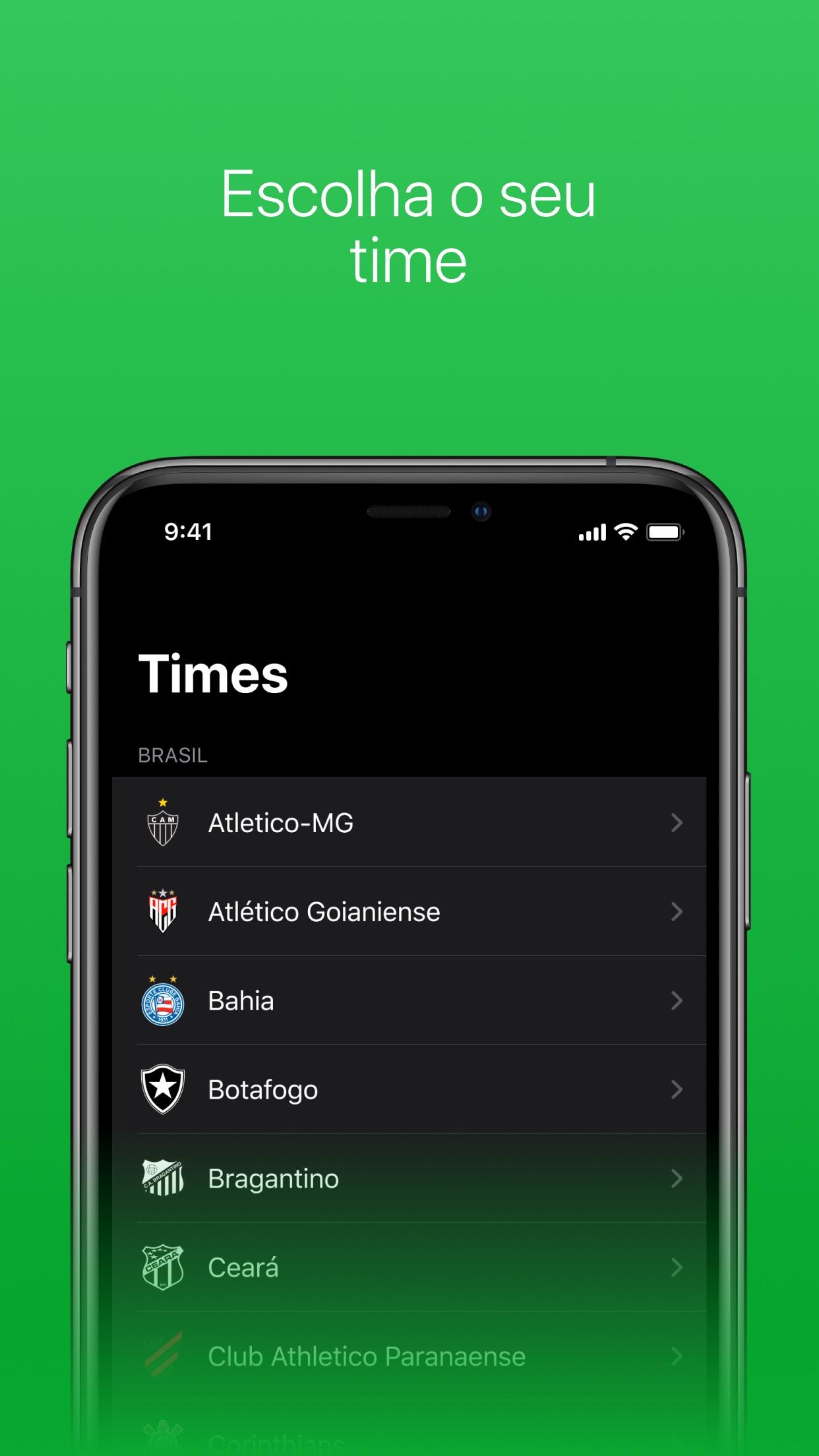 Screenshot do app ProximoJogo