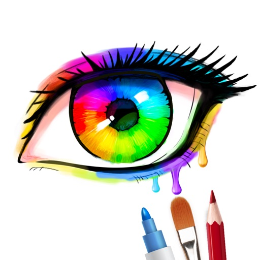 inColor - Art Coloring Space iOS App