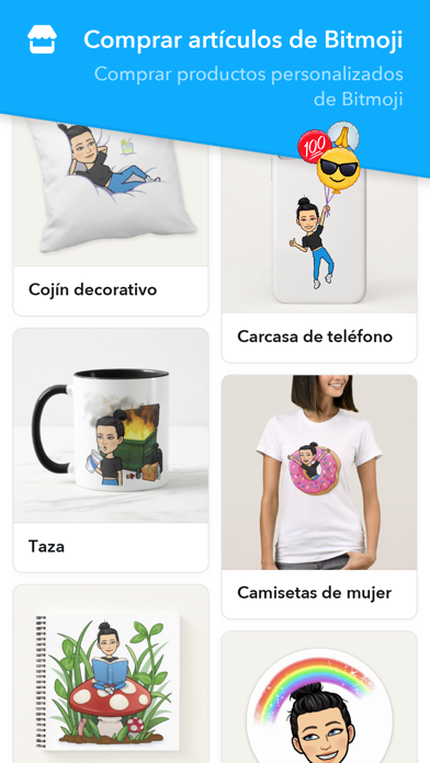 Screenshot for Bitmoji in Spain App Store