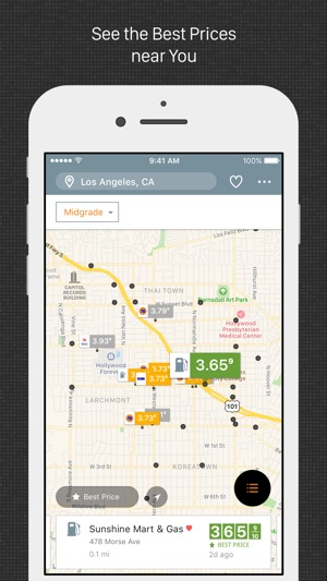 Best Gas Prices >> Gas Guru Cheap Gas Prices On The App Store