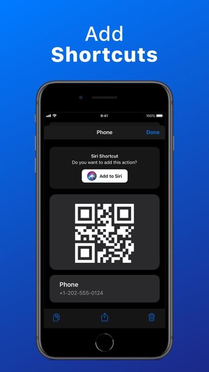 QR Code Reader - QrScan screenshot-7