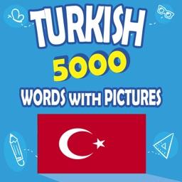 Turkish 5000 Words&Pictures