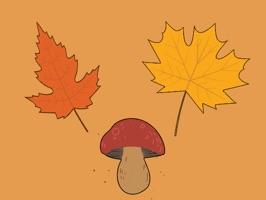 Autumn & Fall stickers & emoji