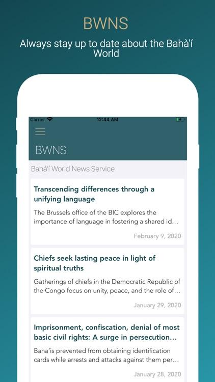 Bahá'í Prayers screenshot-8