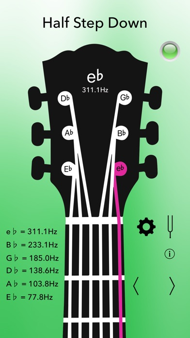 Acoustic Guitar Tuner Pro Screenshots