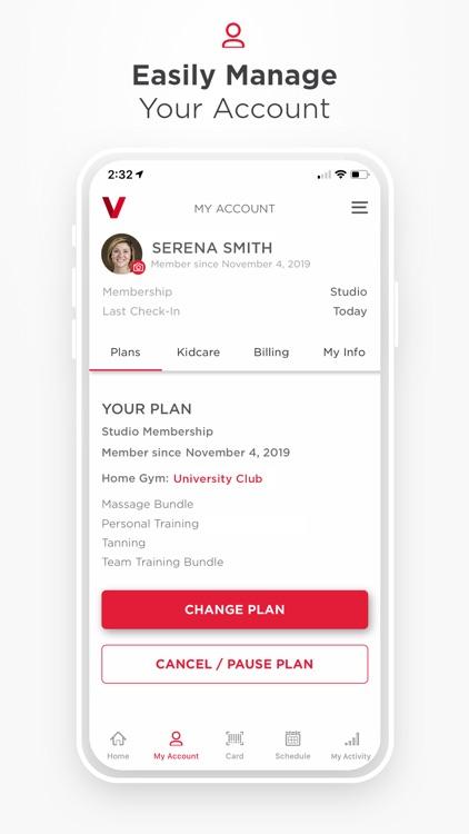VASA Fitness Mobile screenshot-5