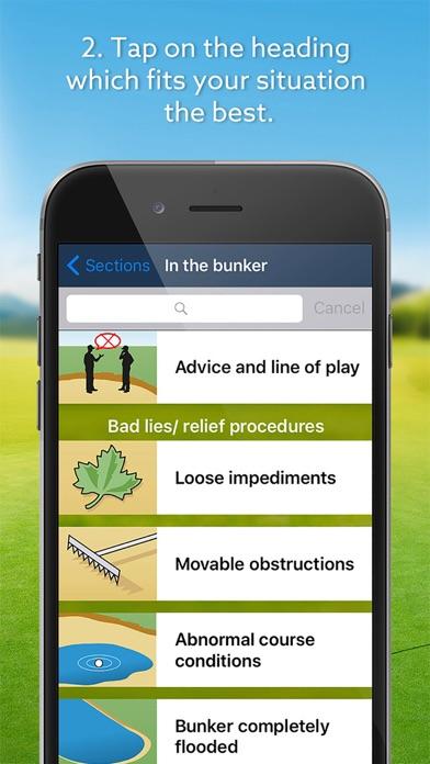 Screenshot #3 pour Expert Golf – iGolfrules