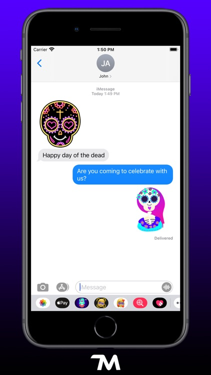 The Day Of The Dead Stickers screenshot-3