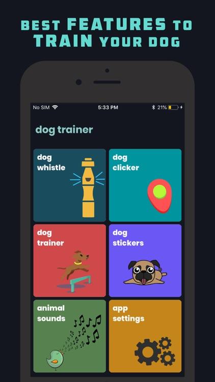 Dog Whistle & Clicker screenshot-0