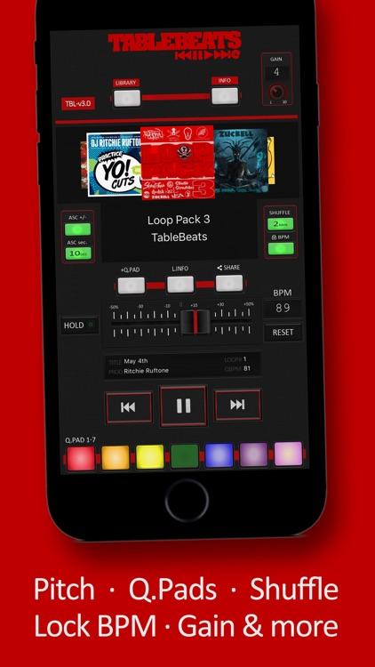 TableBeats: Scratch DJ Library screenshot-3
