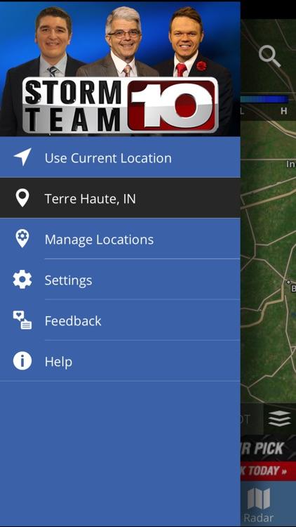 Storm Team 10 - WTHI Weather screenshot-4
