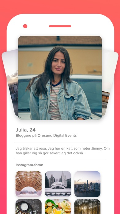 Tinder - Matcha. Chat. Dejta. på PC