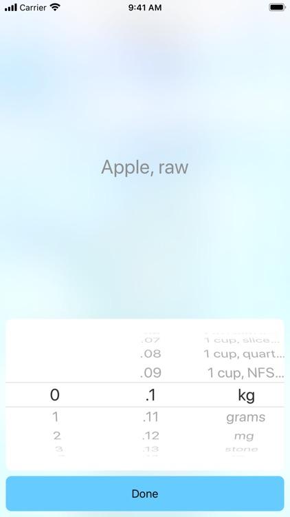 CANC - Nutrients counter screenshot-5
