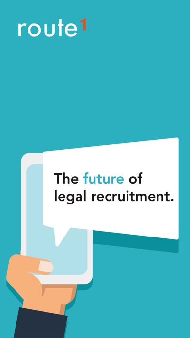 Route1 – legal jobs screenshot one