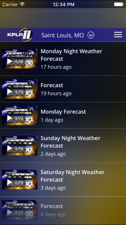 KPLR News 11 St Louis Weather screenshot-4