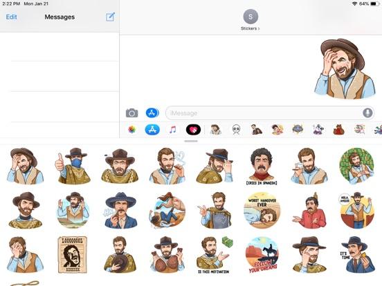 Cowboy Emoji Funny Stickers screenshot 4