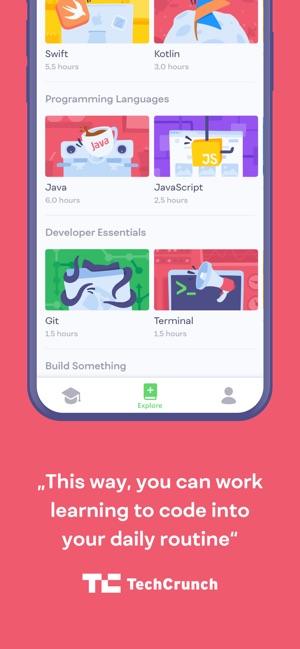 Mimo: Programmieren lernen Screenshot