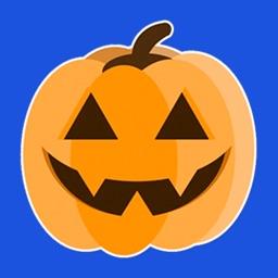 Halloween - Pumpkin stickers