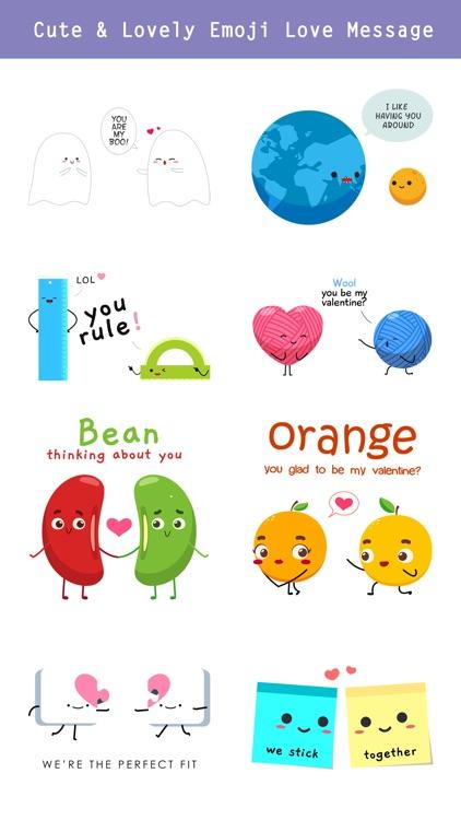 Love is... Romantic Message