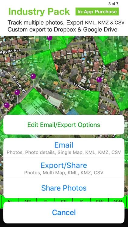 Solocator - GPS Field Camera screenshot-5