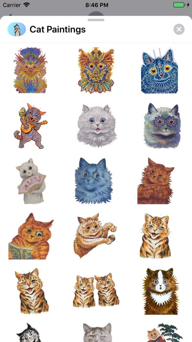 Screenshot for Cat Paintings - Cat Drawings in Azerbaijan App Store