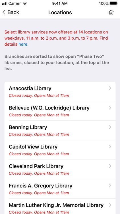 DC Public Library screenshot-1