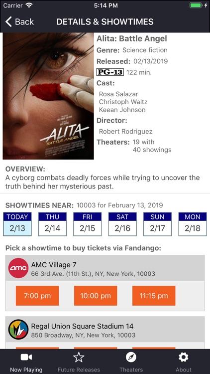Movies & Showtimes screenshot-3
