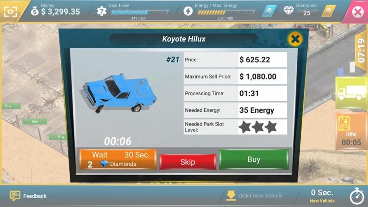 Junkyard Tycoon - Car Business screenshot-5