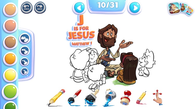 Bible Colouring for Kids!