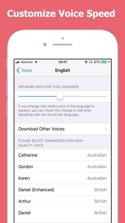 Text to Speech Voicepaper 2 screenshot-4