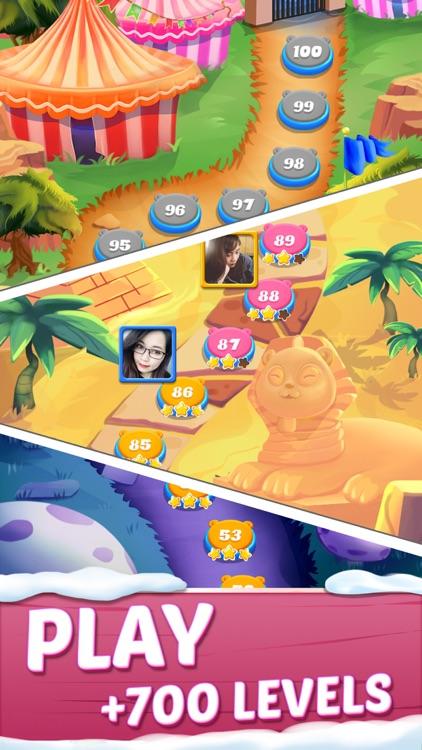 Cute Pop: bubble shooter game screenshot-4