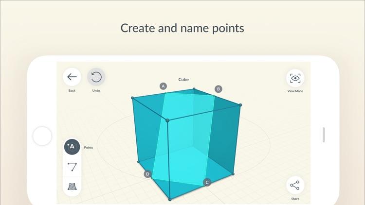 Shapes 3D - Geometry Drawing screenshot-4