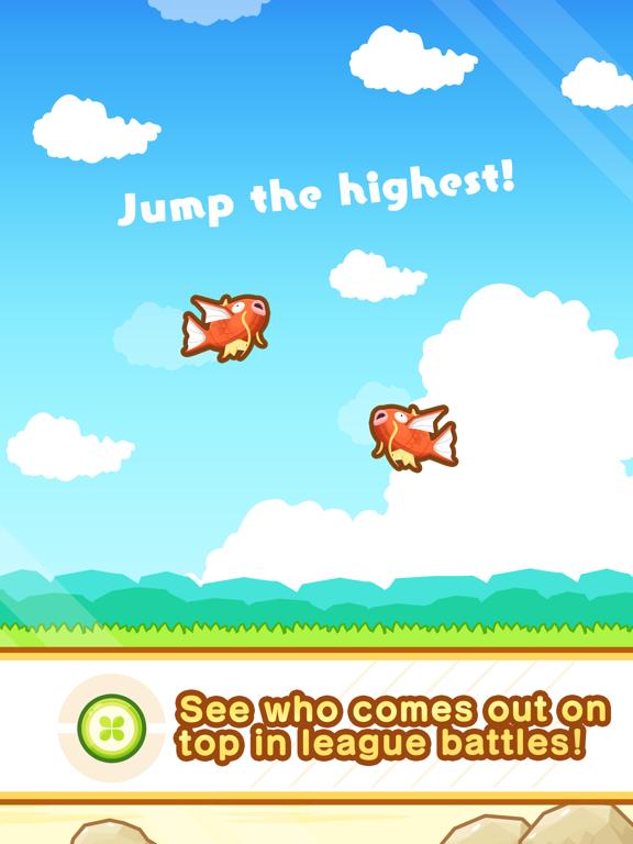 Pokémon: Magikarp Jump iPad app afbeelding 3