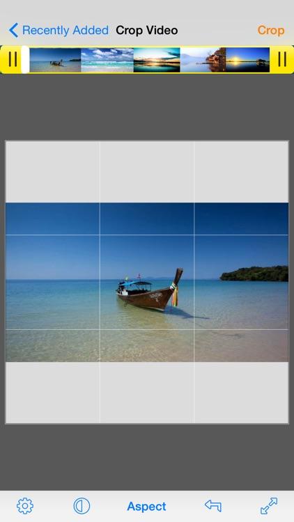 Video Crop Pro - 360° Rotate screenshot-0