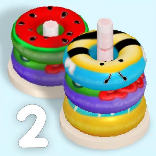 Sort Donuts 3D