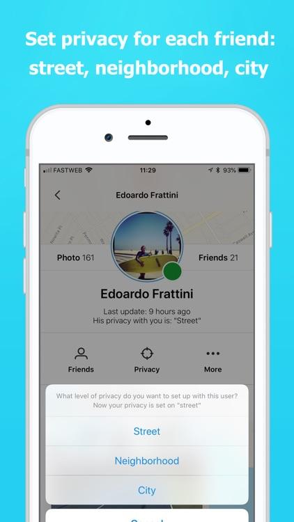 Find Friends Location Sensory screenshot-3