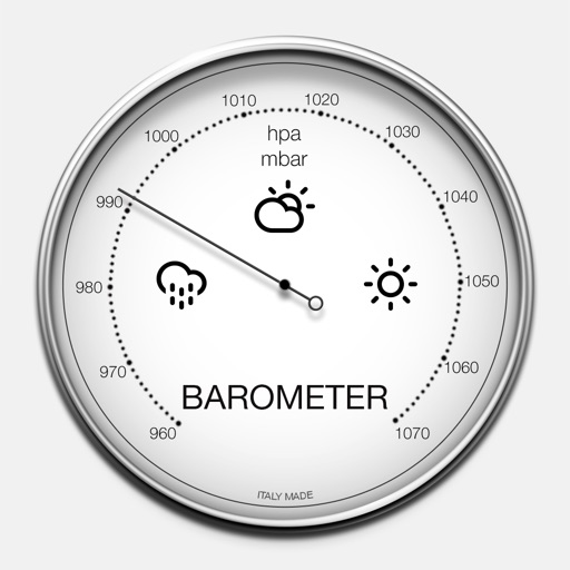 バロメーター - 大気圧