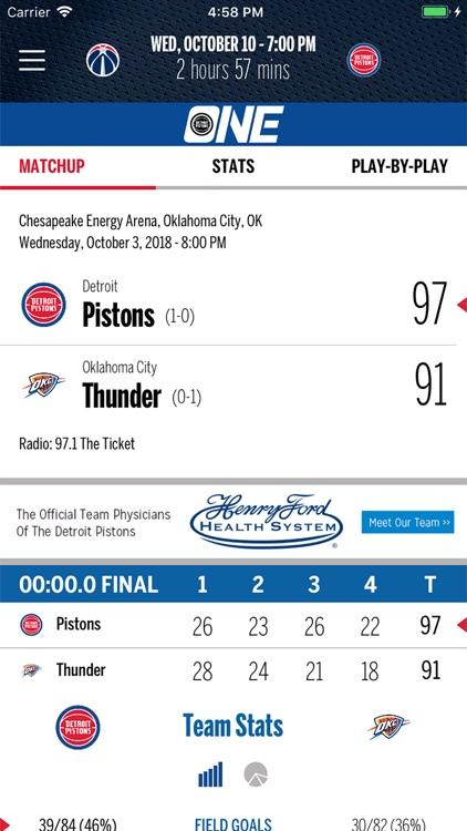 Detroit Pistons screenshot-3