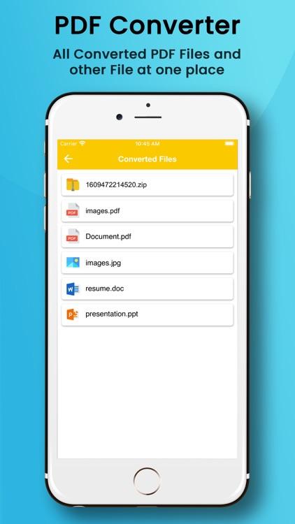 PDF Maker from Photo Word XLS screenshot-4