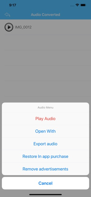 Video To Mp3 Converter Vac On The App Store