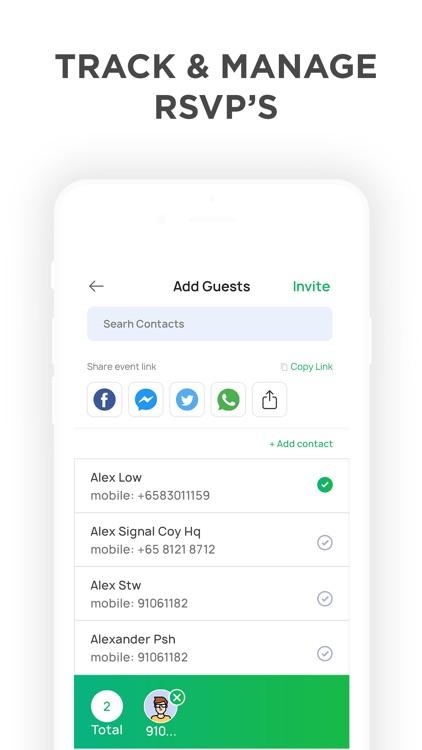 Invitation Maker- Invite Maker screenshot-3