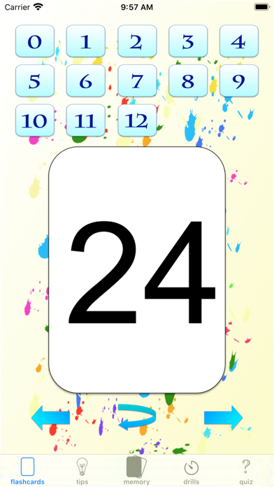 multiplication drills: X screenshot 6