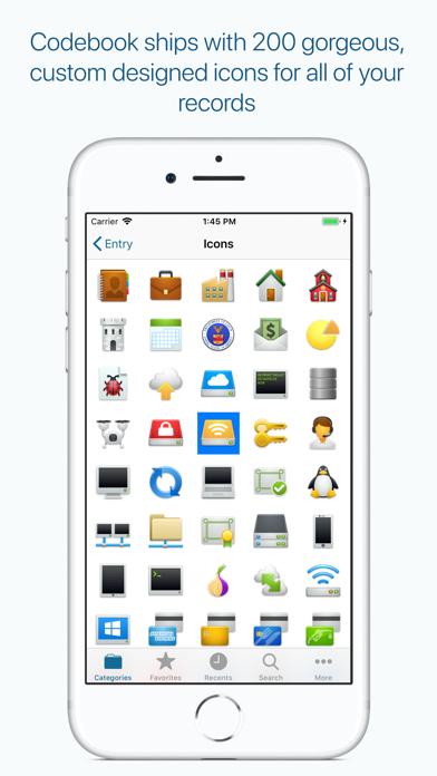 Codebook Password Manager screenshot 8