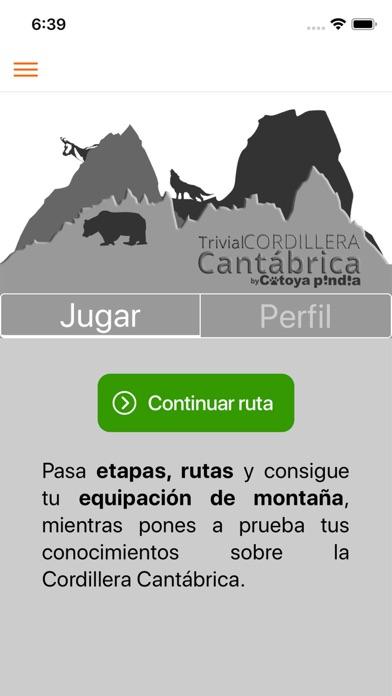 Trivial Cordillera Cantábrica screenshot 1