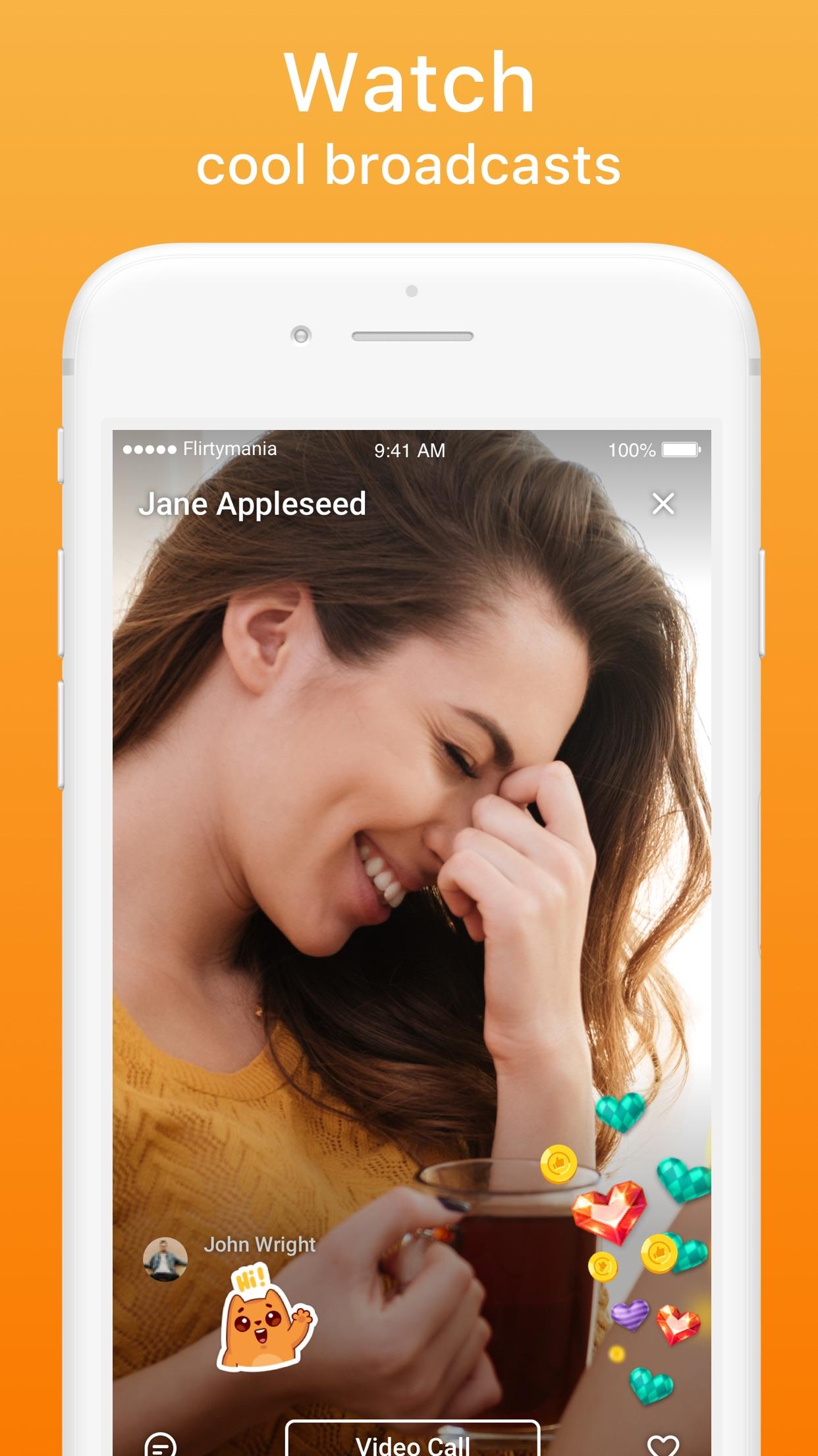 Video Chat Rooms — Flirtymania Screenshot