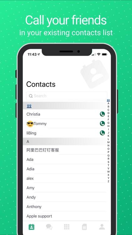 WeTalk – Internet Calls & Text screenshot-5